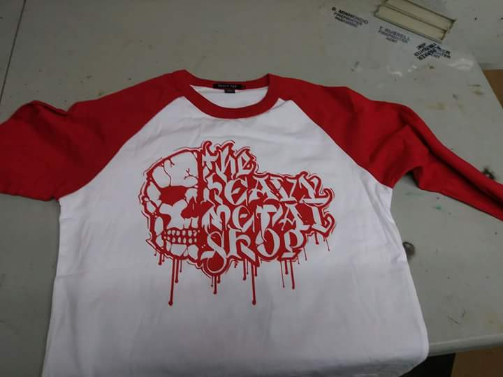 HMS Red Logo BBall T